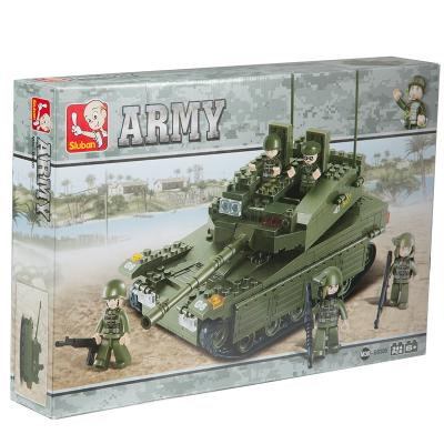 Sluban Low Priced Option  Blocks Tank Toy M38-B0305