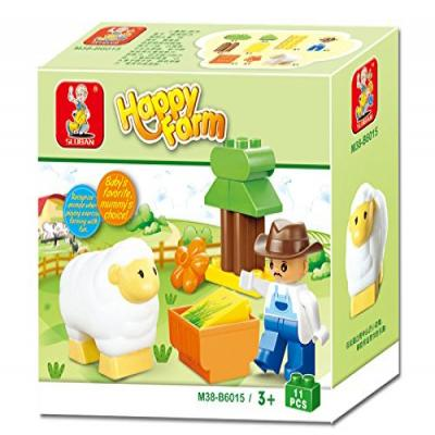 Sluban Happy Farm Learning Educational Building Block Toy M38-B6015