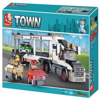 Sluban Educational Buiilding Block Toys Alternate Track Transporter M38-B0339