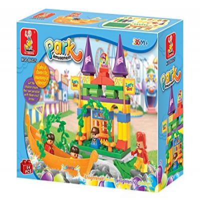 Sluban Educational Building Block Amusement Park Building Block Toy M38-B6025