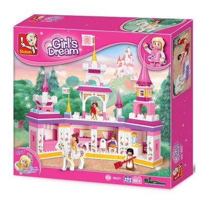 Girl's Dream M38-B0251 Affordable Educational Buiilding Block
