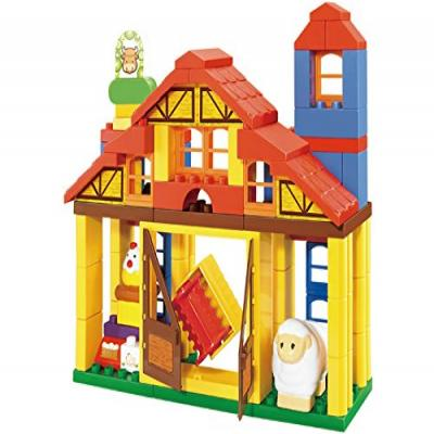 Sluban Building Block Set - Happy Farm Building Block Toy- 114 Pcs. … M38-B6020