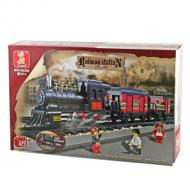 Sluban Educational Buiilding Block Toys Affordable Option Railway Station M38-B0268