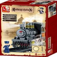 Sluban Educational Buiilding Block Toys Better Priced Option Railway Station M38-B0231