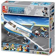Sluban Educational Buiilding Block Popular Alternate Passenger Airplane M38-B0366