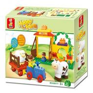 Sluban Educational Buiilding Block Happy Farm Educational Toy M38-B6018