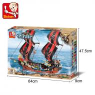 Sluban Educational Buiilding Block Toys Affordable Option Pirate M38-B0129 Block Toys